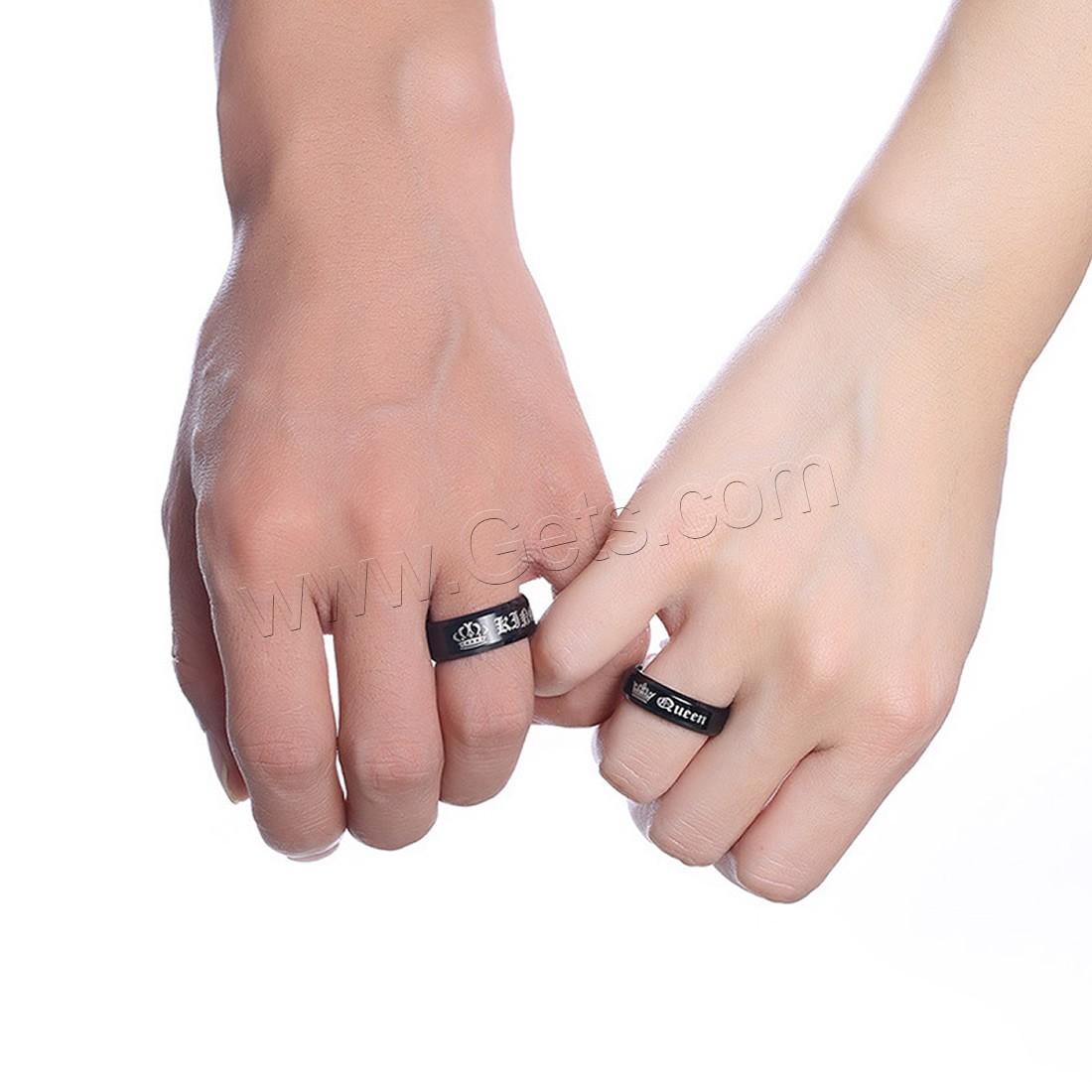 unisex finger ring edelstahl schw rzen verschiedene gr en vorhanden verkauft von pc. Black Bedroom Furniture Sets. Home Design Ideas