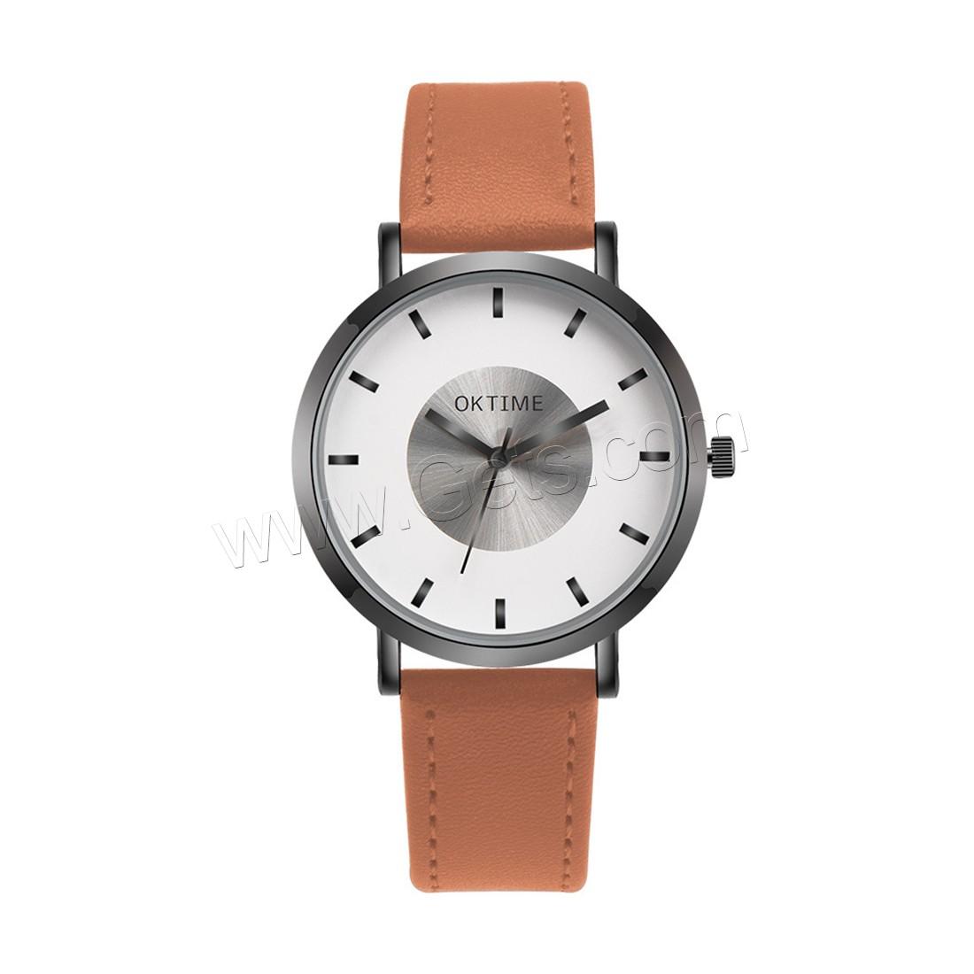 unisexe armbanduhr pu leder mit glas edelstahl zinklegierung schw rzen keine l ca 8 5. Black Bedroom Furniture Sets. Home Design Ideas